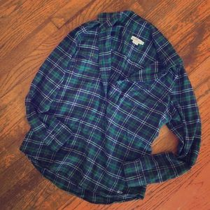 Vineyard vines flannel shirt